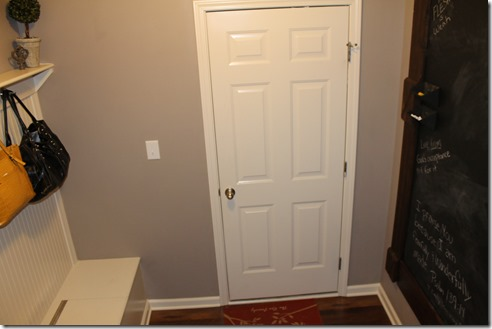 Mud Room Door